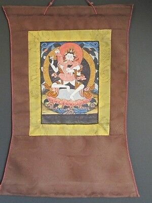 Thangka Tantric and Silk, Tibet
