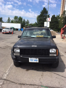 1994 Black Jeep Cherokee SE - Many New Parts - Best Offer