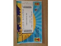 Saturday T in the park ticket unable to go. £80 or highest offer