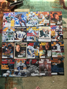 Sports Illistrated Magazines 1991 to 1996- 20 of them
