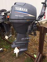 2008 Yamaha Four stroke 30 hp