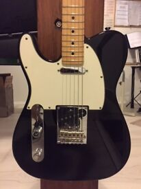 Fender Telecaster Left Handed USA American Standard Black