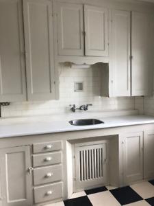 Vintage Kitchen cupboards 1950s