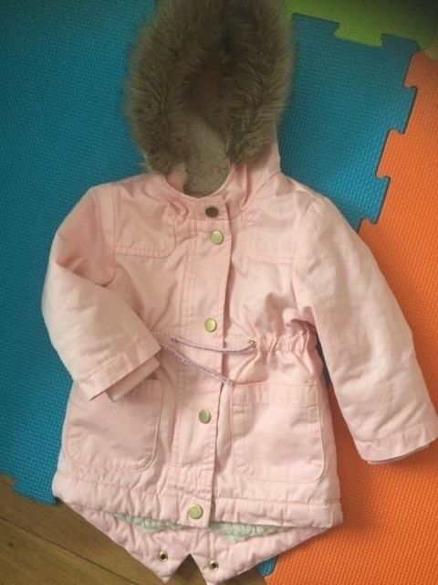 33817e834 Baby girls coat from mothercare 6-9 months