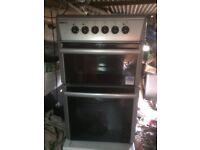 £93.89 beko grey ceramic electric cooker+50cm+3 months warranty for £93.89