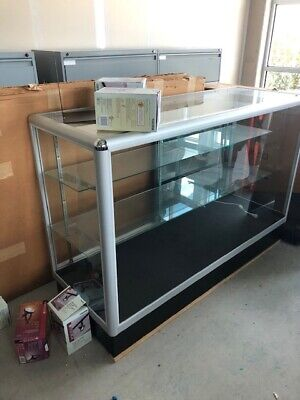 Glass Countertop Display Case Fixture Showcase