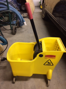 One piece mop wringer bucket -Rubbermaid Commercial