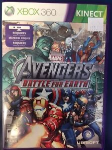 XBox 360 Marvel Avengers Battle For Earth (Requires Kinect)