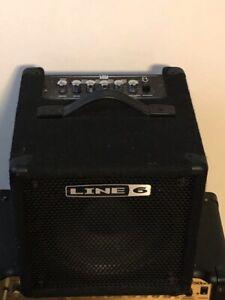 Bass amplifier  - Line 6 lowdown