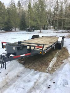 2010 Loadtrail 7x20 Electric Tilt Car Hauler