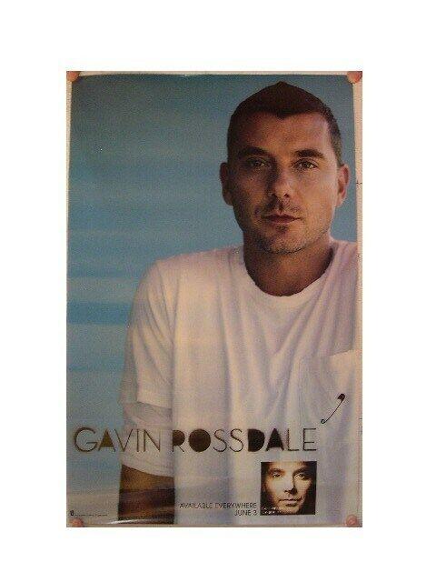 Gavin Rossdale Poster Bush Lead Singer