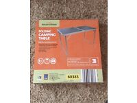 Camping Table Brand New Never Used