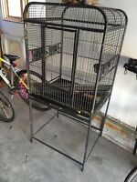 Large Birdcage For Sale. Like New