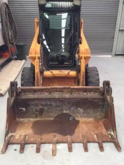 """""""Case 420 series 3 2008 bobcat with A/C"""""""