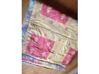 Beautiful handmade double size quilt. (Never used)