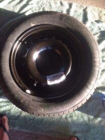 tyre and wheel brand new Continental 185/65R 15H