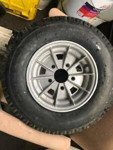Aluminium  boat Trailer wheel. Suit Holden axle.  Wheel POC 4.25