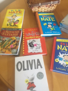 Kids books....one is french