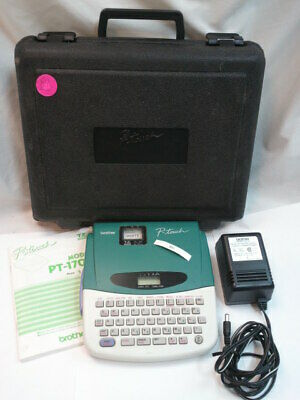 Brother P-touch Label Maker Pt-1700 Pt 1700 Electronic Labeling Thermal Printer