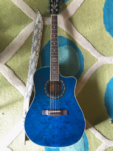 Fender Guitar T - Bucket 300CE Blue