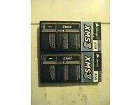 A PAIR OF 2X CORSAIR XMS3 4GB DDR3 1333MHz 15V STANDARD DIMMS DIMM PC COMPUTER MEMORY MODULES
