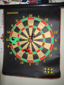 Double sided magnetic dart board *NEW* UNOPENED