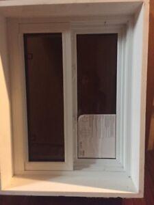 Brand new vinyl window 25'x32'