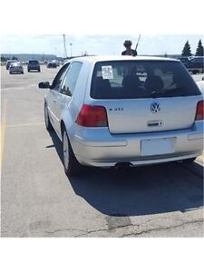 2003 VW GTI 1.8T 5 SPD* LONG BEACH WHEELS** AS IS SALE**