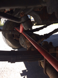 Dana 60 front with Detroit and 14 Bolt rear 4:10 gears