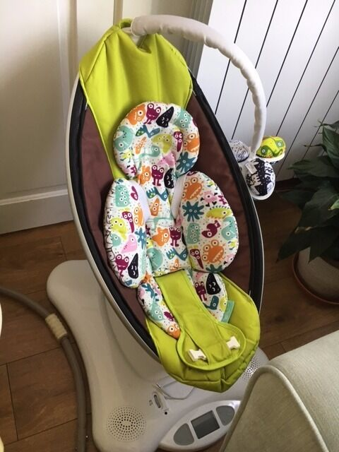 4Moms Mamaroo With Newborn Insert Included