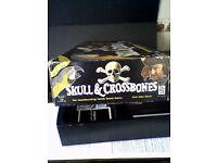 """SKULL & CROSSBONES"" GENUINE VINTAGE BOARD GAME"
