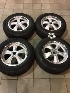 """18"""" Giovanna rims with new tires fit 97-04 Ford F-150"""
