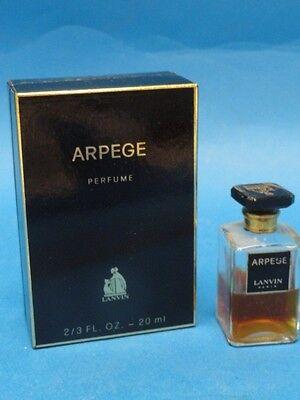 VINTAGE LANVIN ARPEGE 2/3 OZ PURE PARFUM * RARE