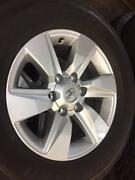 "Toyota Prado 2018 GXL 17"" Rim & Tyre $385 Each *1 only available* Osborne Park Stirling Area Preview"