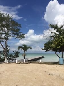One Acre on Sandy Beach in Sarteneja, Belize