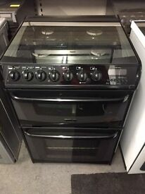 Cannon dual fuel 600 cooker with 6 months warranty