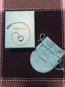 Tiffany & Co - Elsa Peretti Open Heart Pendant
