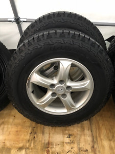 Hyundai Winter Tires 106T DynaPro for $120