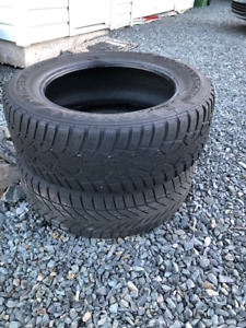 2 X 225/60R17 tires for sale