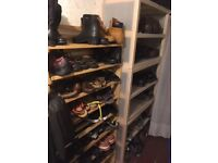 Shelving for footware