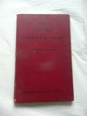 THE OXFORD ADVANCED ATLAS - BARTHOLOMEW 1924