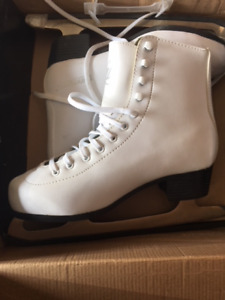 Girls figure skates