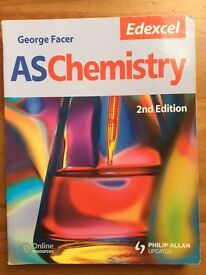 AS CHEMISTRY GEORGE FACER EDEXCEL 2ND EDITION