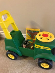 John Deere Tractor for kids - great Christmas gift!