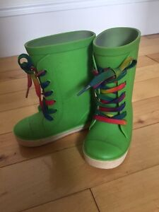 Rubber Boots - toddler size 7