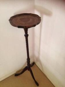 Antique Pedestal Hall Stand Merrimac Gold Coast City Preview
