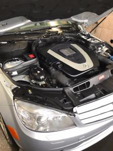 2009 Mercedes-Benz C-300 4matic Navigation+ 4 winter tires/Rims