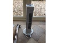 Cold Air Oscillation Fan 3 Settings - Used.