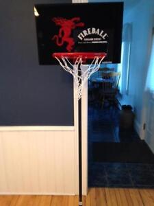 New Rare Fireball Basketball Hoop Great Man Cave Item!  $65.00