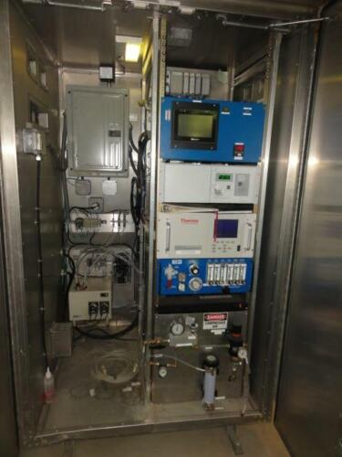 CEMTEK CEMS with Thermo 42i LS NOx and Servomex 1440 O2 Analyzers CEMLink MORE!